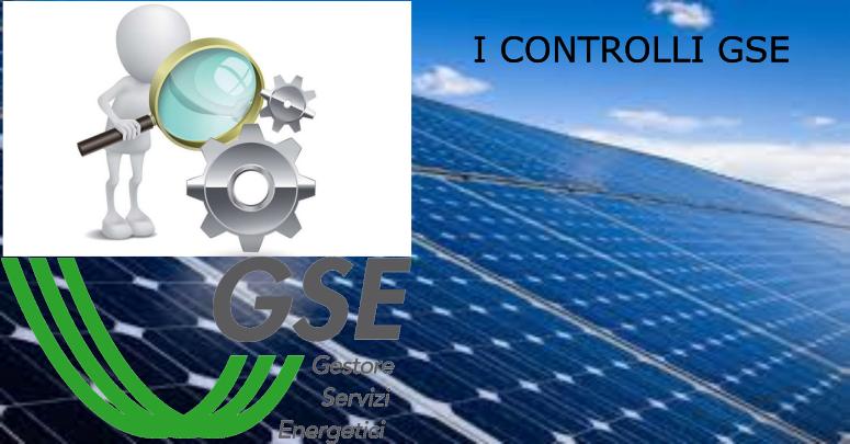 GSE - perdita di incentivi fotovoltaico